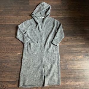 Zara Knit long duster cardigan